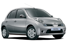 Nissan Micra car rental west london
