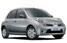 Nissan Micra car rental west london