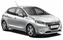 Peugeot 208 car rentals west london