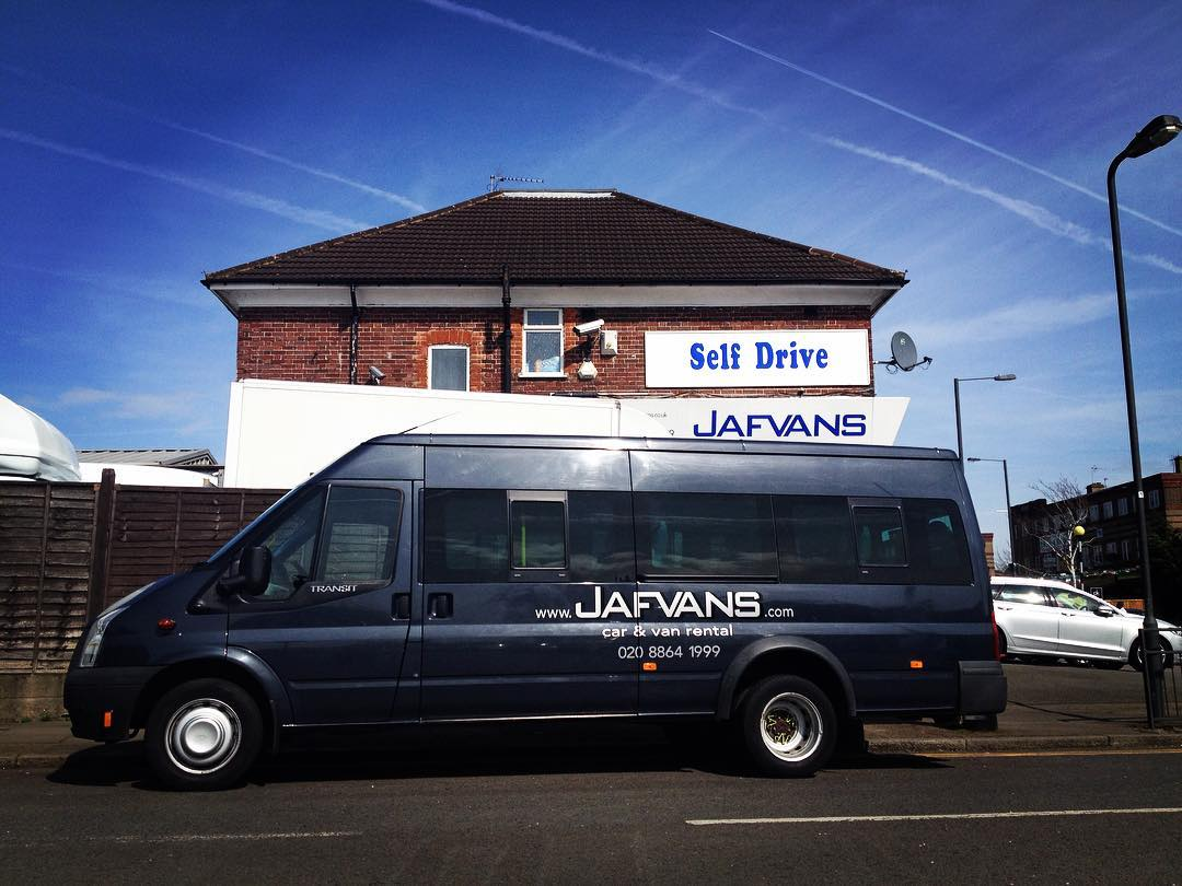 Ford Transit 17 seater self drive hire west london