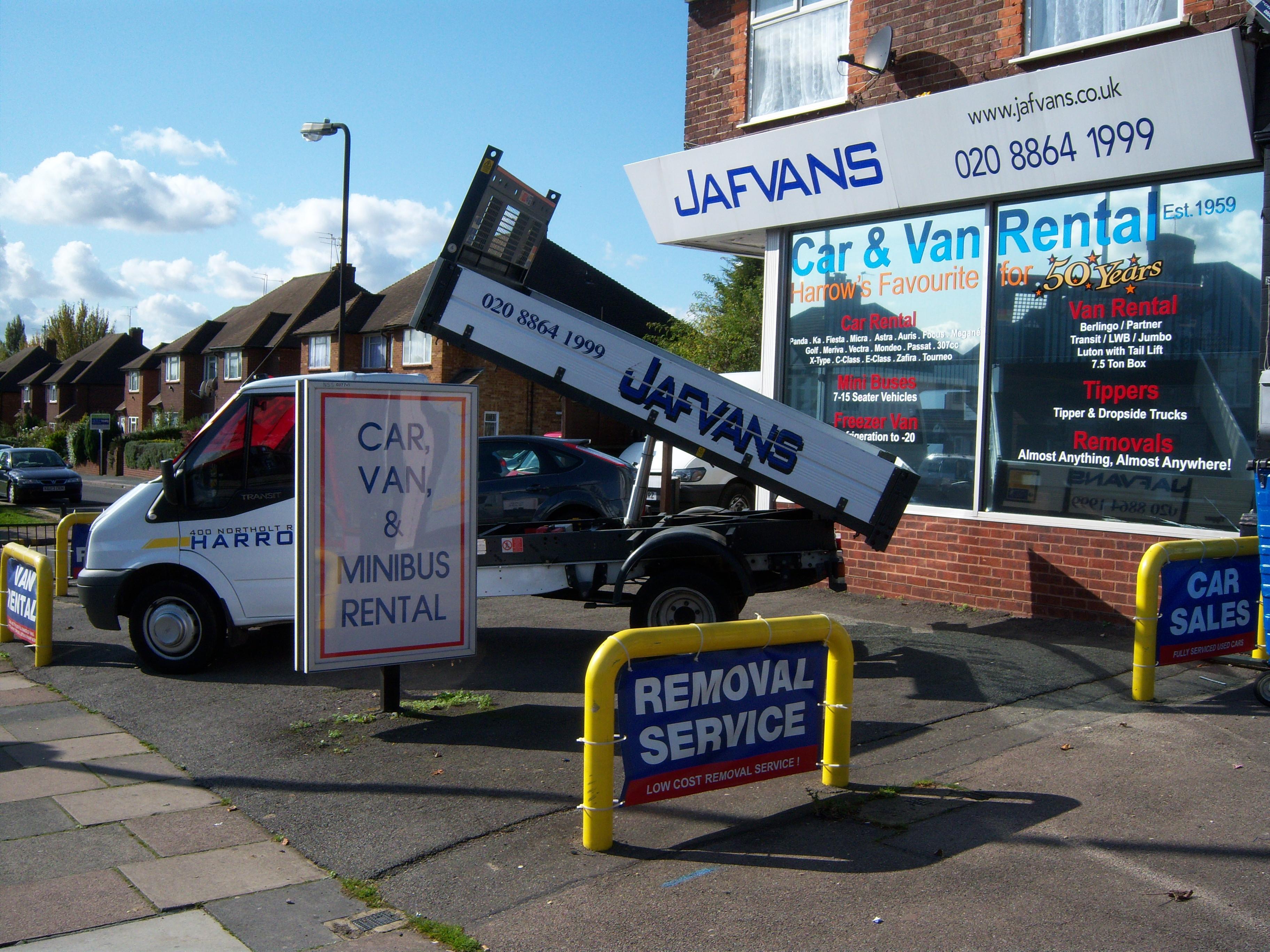 Jafvans Rentals Office in South Harrow