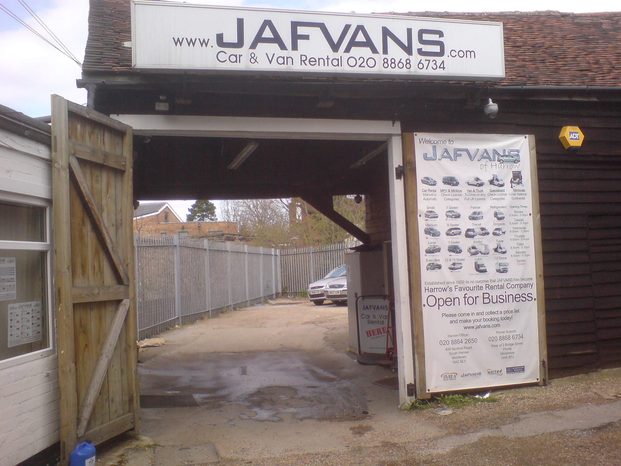Jafvans Office in South Harrow