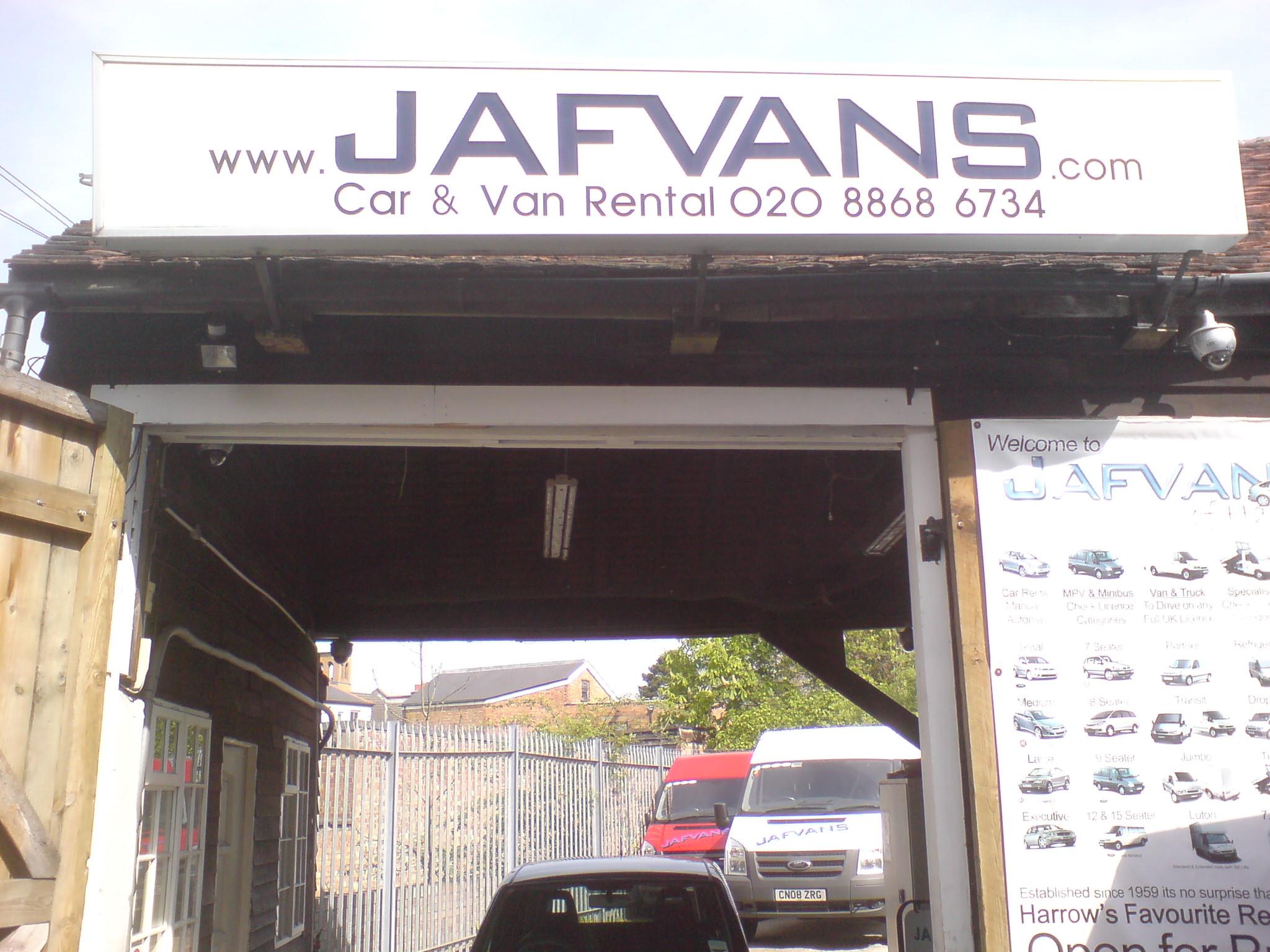 Jafvans Rentals Office in Pinner