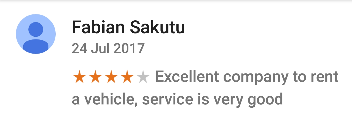 Jafvans Google Review 5