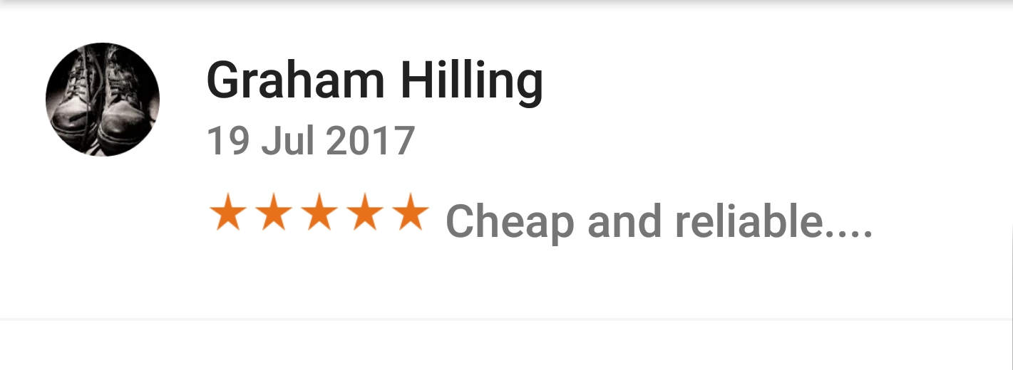 Jafvans Google Review 4