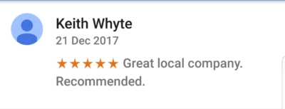 Ruislip Google Review 1