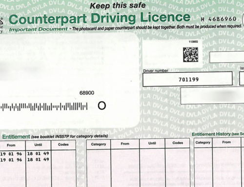 UK Driving Licence Changes