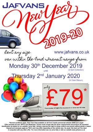 Christmas Van rentals - Deal 3