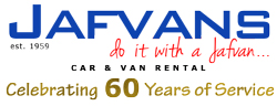 West London's Best Car & Van Rentals – Jafvans Logo